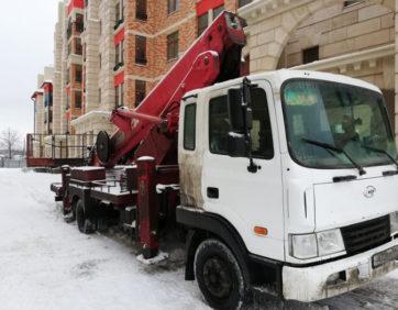Аренда спецтехники высотные работы Москва