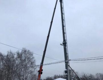 Аренда автовышки 45 метров