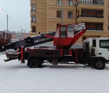 Аренда спецтехники для фасадных работ Москва