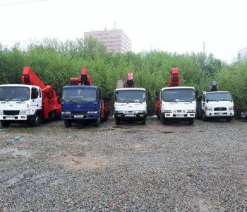 Аренда автовышек в Москве
