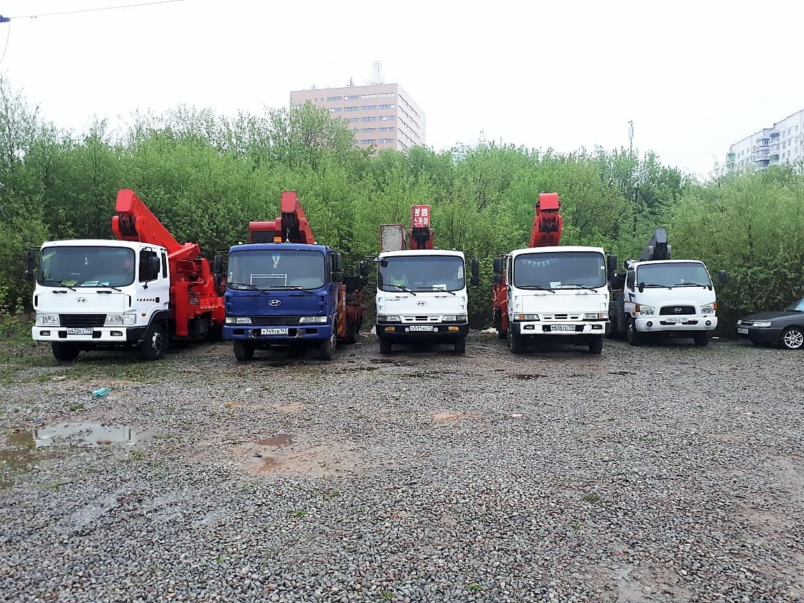 Аренда автовышек Москва круглосуточно