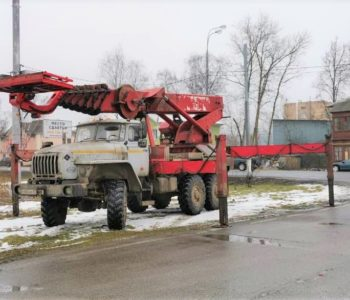 Аренда автовышки вездехода Москва