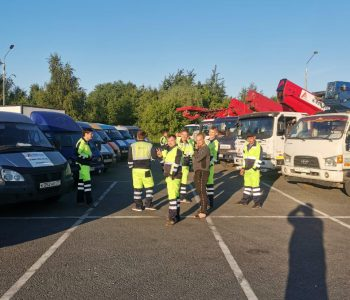 Аренда автовышки для фасадных работ в Москве
