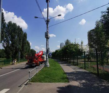 Аренда автовышки для монтажных работ в Москве